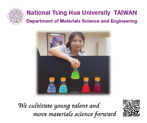 National Tsing Hua University Taiwan Department of Materials Science and Engineering - We cultivate young talent and move materials science forward