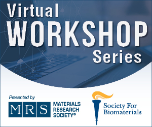 Virtual Workshop Series Presented by MRS and SFB