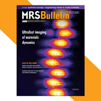 July 2018 MRS Bulletin Cover