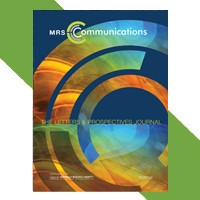 Cover image of MRS Communications journal