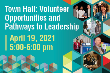 Town Hall: Volunteer Opportunities and Pathways to Leadership